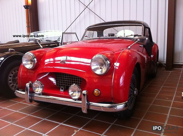 Triumph  TR2 1954 Vintage, Classic and Old Cars photo