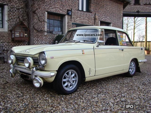 Triumph  Herald 13/60 Saloon 1968 Vintage, Classic and Old Cars photo