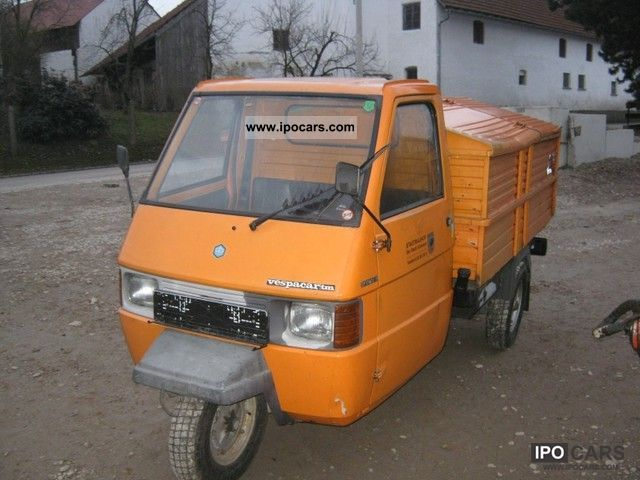 1998 piaggio ape tm car photo and specs. Black Bedroom Furniture Sets. Home Design Ideas