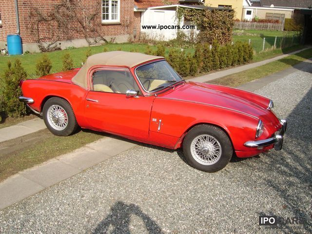 Triumph  Spitfire Mark III 1967 Vintage, Classic and Old Cars photo