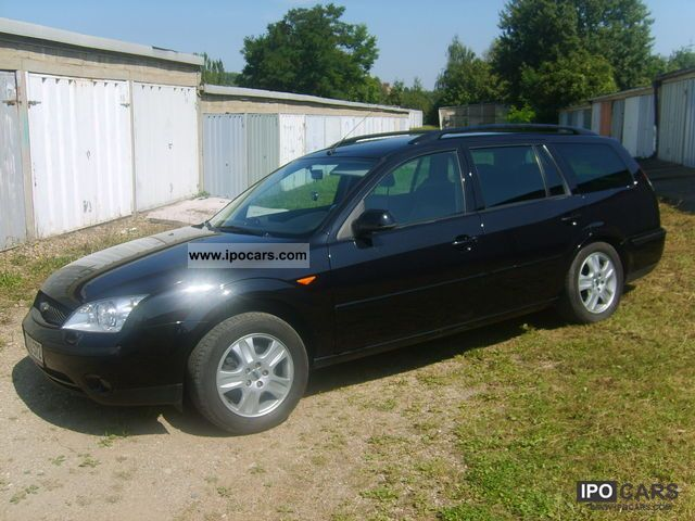 2003 ford mondeo estate 2 0 tdci car photo and specs. Black Bedroom Furniture Sets. Home Design Ideas