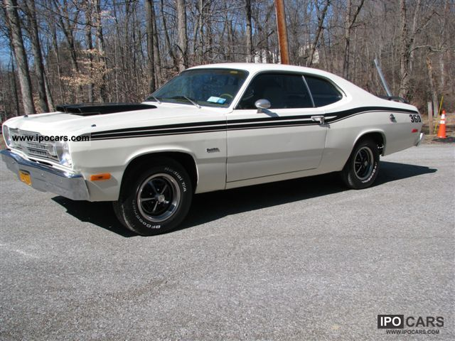 Plymouth  Duster 360 ci V8, Go-Wing, Hood Scoops! 1974 Vintage, Classic and Old Cars photo