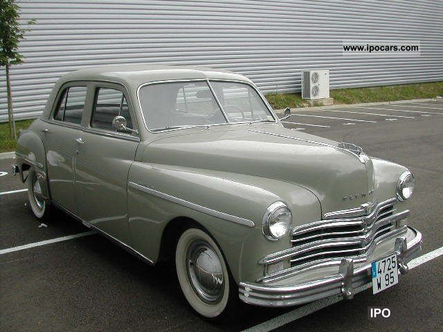 Plymouth  SPECIAL DELUXE P18 1949 1949 Vintage, Classic and Old Cars photo