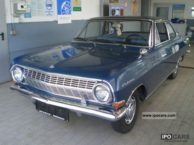1965 Opel  Record A 1700 Coupe luxury Sports car/Coupe Classic Vehicle photo