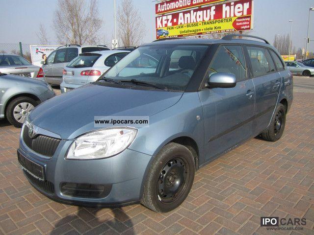 2008 Skoda  Fabia Combi 1.9 TDI PD Ambiente Estate Car Used vehicle photo