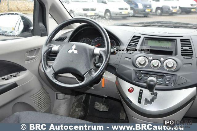 Open Road Mercedes >> 2008 Mitsubishi Grandis 2.4i car Matas - Car Photo and Specs