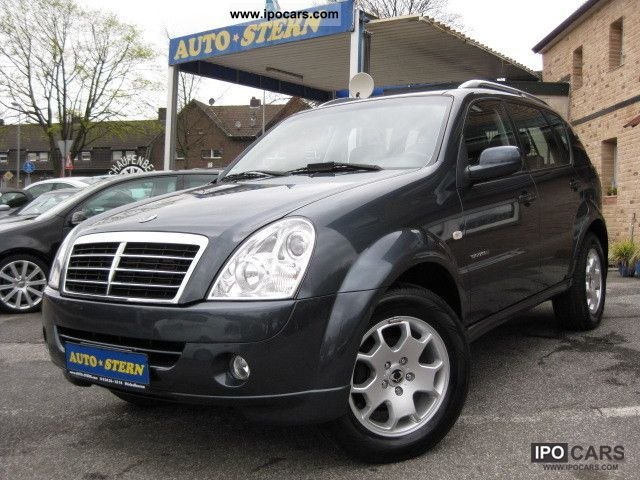 2007 ssangyong rexton rx 270 awd xdi euro4 leather ahk. Black Bedroom Furniture Sets. Home Design Ideas