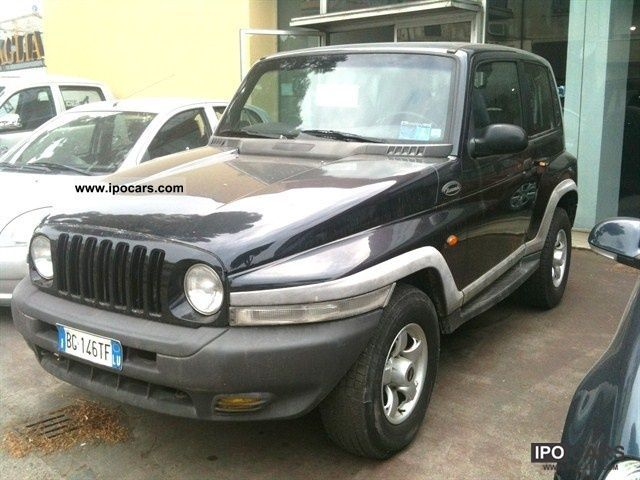 1999 Ssangyong  Korando 662 2.9 turbo diesel ELX Estate Car Used vehicle photo