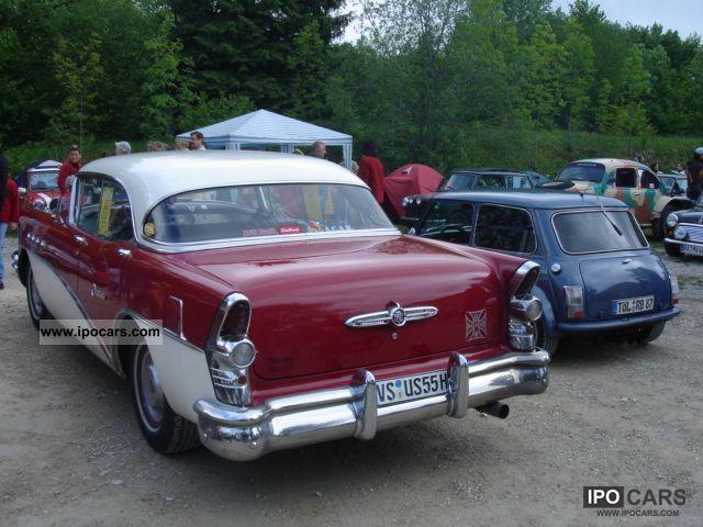 1955 buick century riviera 4 door hardtop 63d 322cui car for 1955 buick century 4 door hardtop