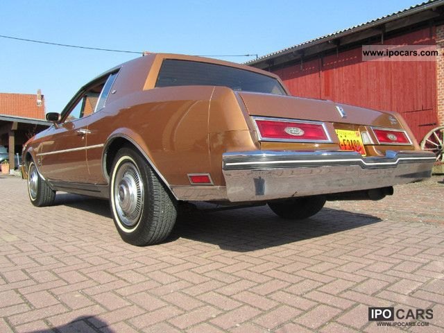 Buick  Riviera - 73 TKM - H-admission TOP AUTO 1979 Vintage, Classic and Old Cars photo
