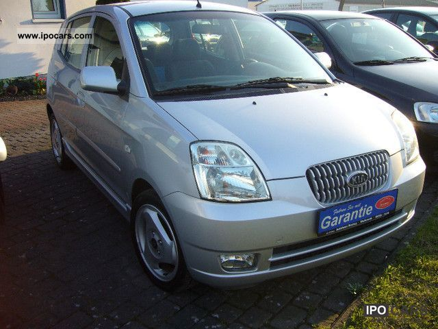 2004 Kia  Picanto 1.1 + air heater, 1 Hand + TZ Small Car Used vehicle photo