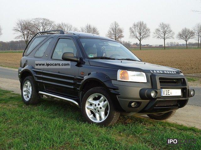 2000 Land Rover Freelander 1 8i Car Photo And Specs