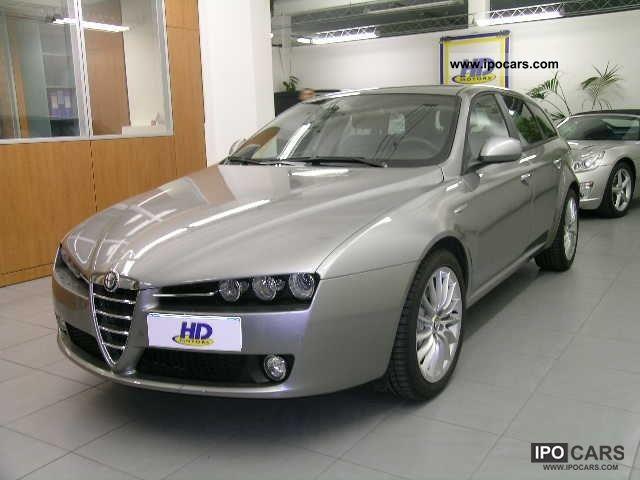 2011 Alfa Romeo  159 1750 TBi SW Distinctive navi-pelle xeno Estate Car Used vehicle photo