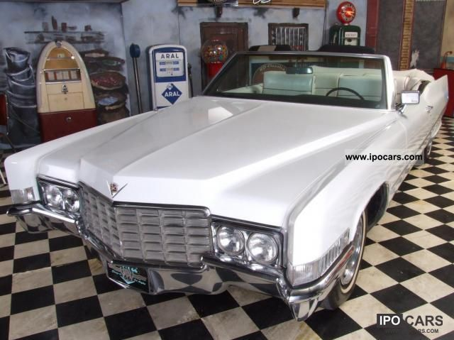 Cadillac  Deville Convertible 1969 Vintage, Classic and Old Cars photo