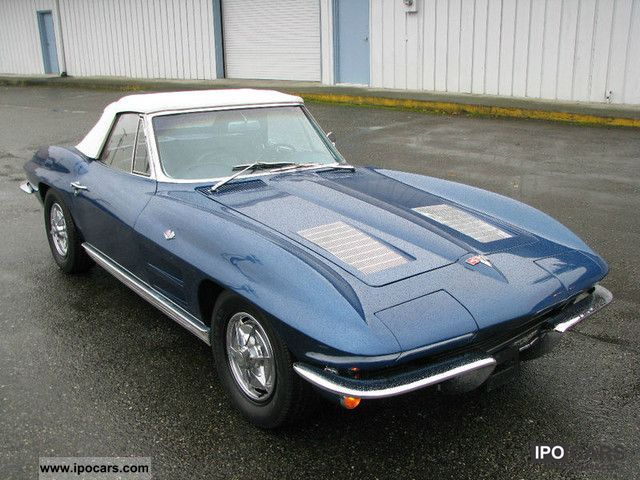 Corvette  c2 cabriolet 1963 Vintage, Classic and Old Cars photo