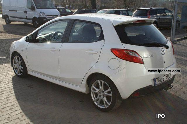 2007 Mazda 2 1.5 103 HP BIAŁA PERŁA SPORT! Small Car Used vehicle ...