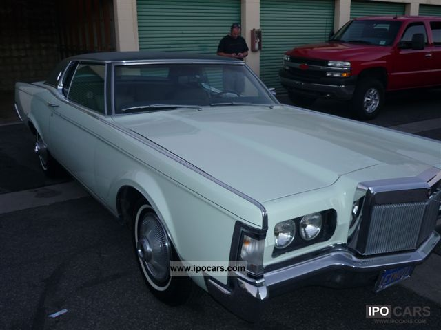 1969 Lincoln  Mark 3 Sports car/Coupe Classic Vehicle photo