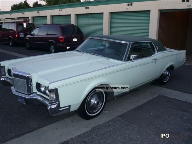 1969 Lincoln Mark 3 Car and Specs