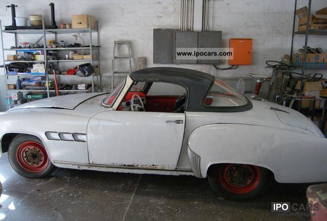 1957 wartburg 313 sport coupe car photo and specs. Black Bedroom Furniture Sets. Home Design Ideas