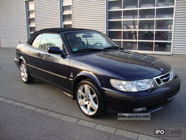 2001 saab 9 3 convertible t aut vollausst gepfl zstd car photo and specs. Black Bedroom Furniture Sets. Home Design Ideas