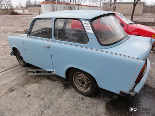 Trabant  601 1972 Vintage, Classic and Old Cars photo