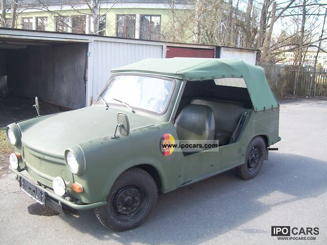 1976 Trabant  601 Cabrio / roadster Used vehicle photo