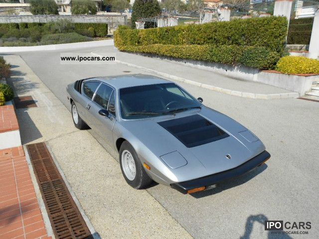 Lamborghini  Urraco P250 S 1972 Vintage, Classic and Old Cars photo