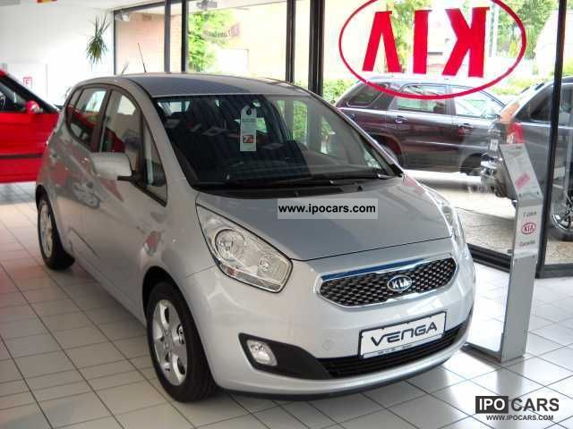 2012 Kia  Venga 1.4 SPIRIT German model Small Car Pre-Registration photo
