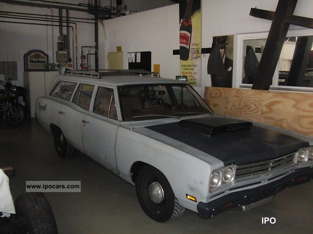 1969 Plymouth  Combination Estate Car Used vehicle photo