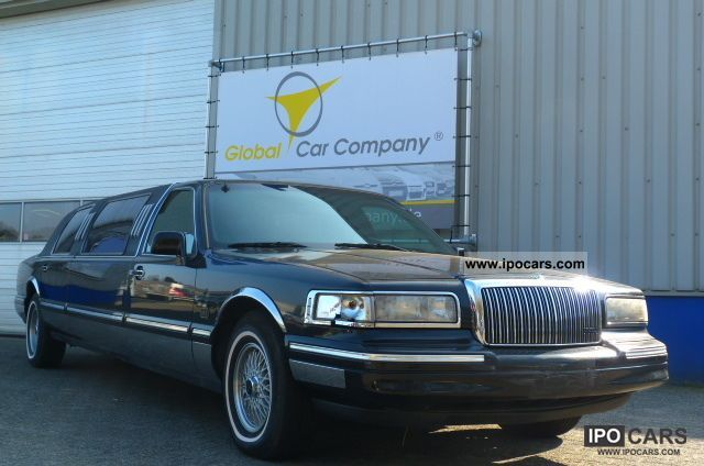 1996 Lincoln  STRETCH LIMO 9-TOWN CAR SEAT AIR AUTOMATIC, LEATHER Limousine Used vehicle photo