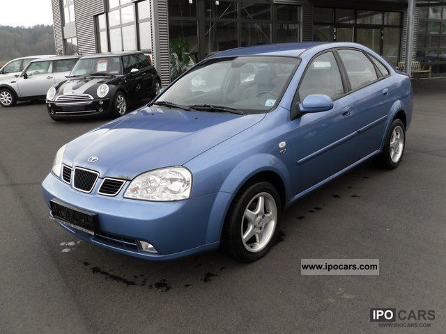 2003 Daewoo Nubira CDX climate control - Car Photo and Specs