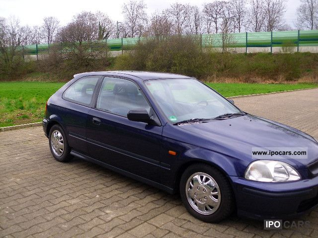 1997 honda civic 1 4i climate leather sv ar   car photo and specs