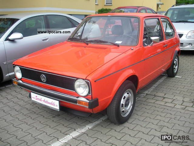 1978 Volkswagen  I golf with chrome bumpers 90 000 KM. Limousine Used vehicle photo