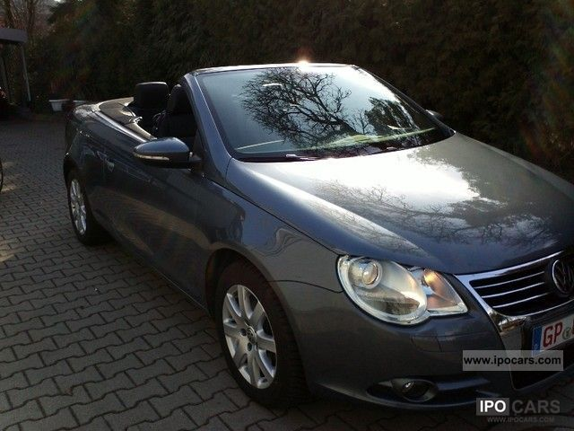 2010 volkswagen eos 2 0 tdi dpf exclusive full leather car photo and specs. Black Bedroom Furniture Sets. Home Design Ideas