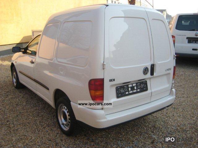 2002 volkswagen caddy 1 9 sdi vans