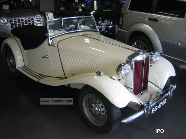MG  TD 1250 LHD 1950 Vintage, Classic and Old Cars photo