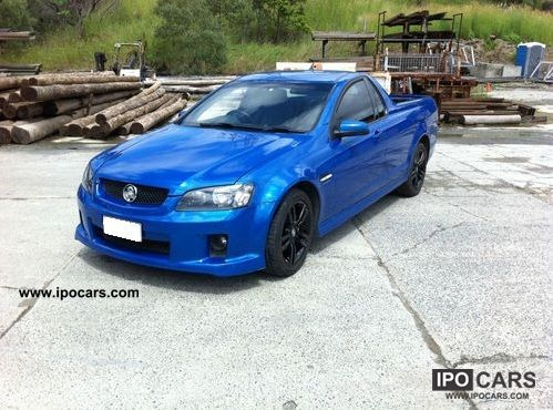 2008 Holden Ute Sv6 Car Photo And Specs