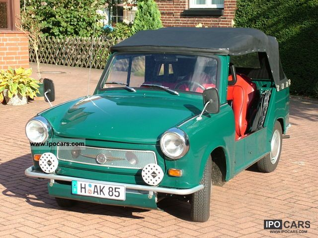 Trabant  Tub / convertible 1976 Vintage, Classic and Old Cars photo