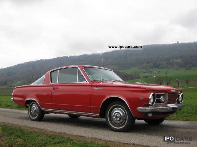 Plymouth  Barracuda 1965 Vintage, Classic and Old Cars photo