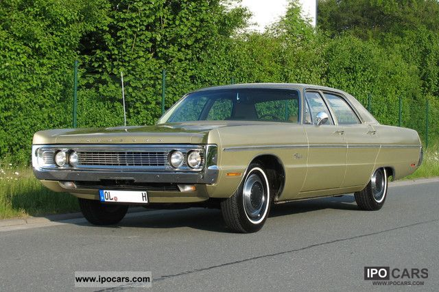 Plymouth  Fury III - MOPAR classic V8 with H-approval 1970 Vintage, Classic and Old Cars photo