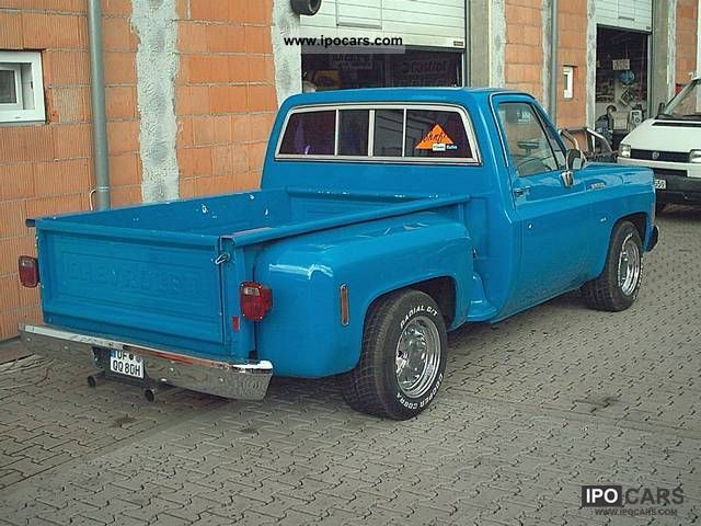 GMC  Pick Up Truck Silverado 454 1974 Vintage, Classic and Old Cars photo