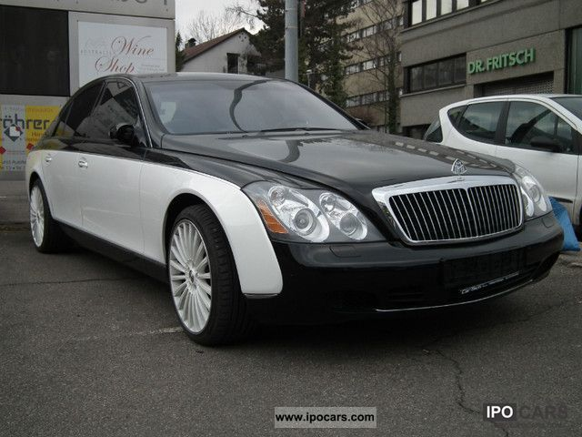 2005 Maybach 57 Exclusive Special Paint Car Photo And Specs