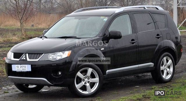 2008 mitsubishi outlander car photo and specs. Black Bedroom Furniture Sets. Home Design Ideas