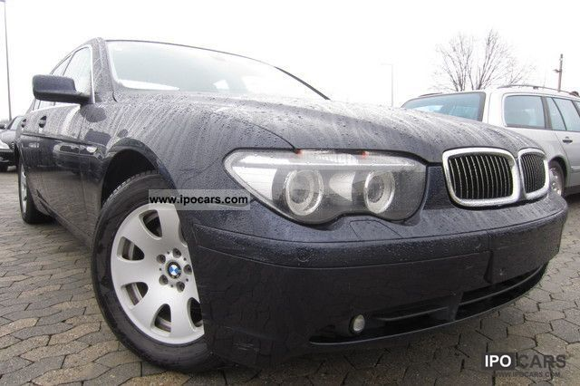 2004 BMW  735i NAVI + TV + LARGE LEATHER + Bi-Xenon + START STOP Limousine Used vehicle photo