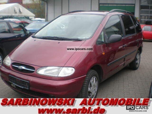1998 Ford  Galaxy 2.3 16V * Climate * 6 * seats Tüv06-2013 * Van / Minibus Used vehicle photo