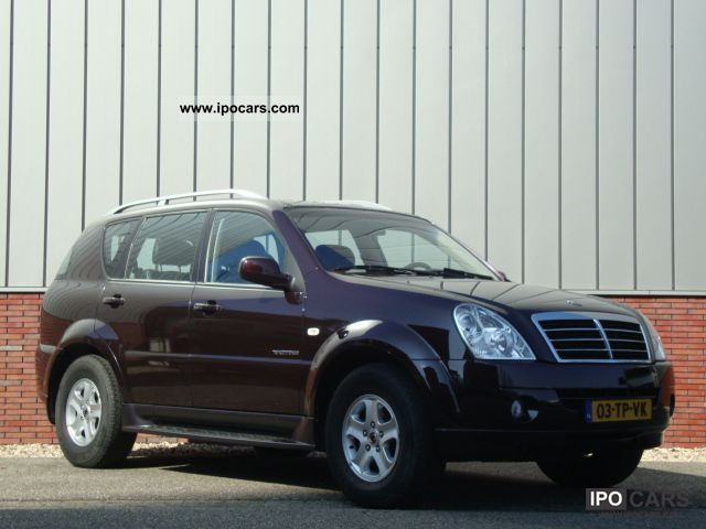 2007 ssangyong rexton rx 270 39 s automatic xdi car photo. Black Bedroom Furniture Sets. Home Design Ideas