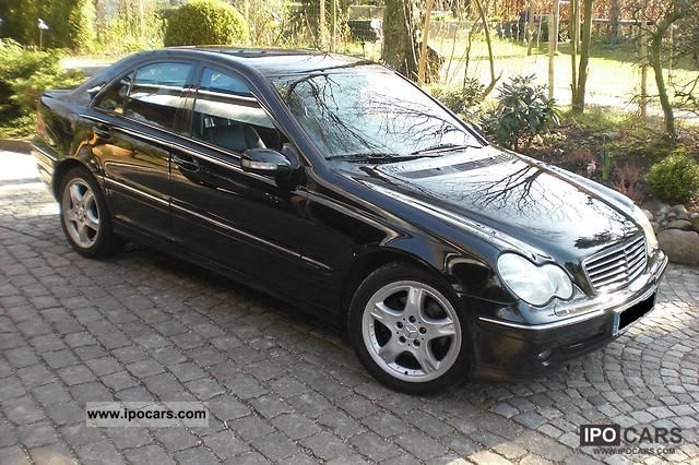 2001 mercedes benz c 270 cdi car photo and specs. Black Bedroom Furniture Sets. Home Design Ideas