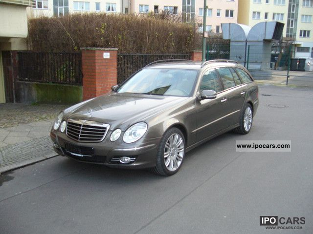 2008 Mercedes-Benz  * E 280 CDI AVANTGARDE SPORTS PACKAGE * LEATHER * COMAND * Estate Car Used vehicle photo