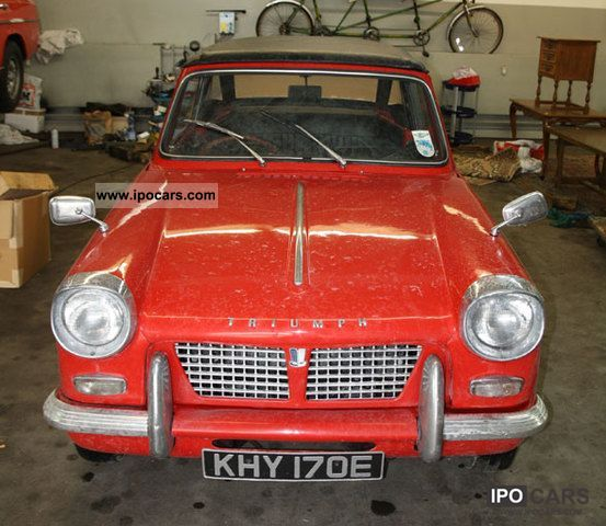 Triumph  Herald 1967 Vintage, Classic and Old Cars photo