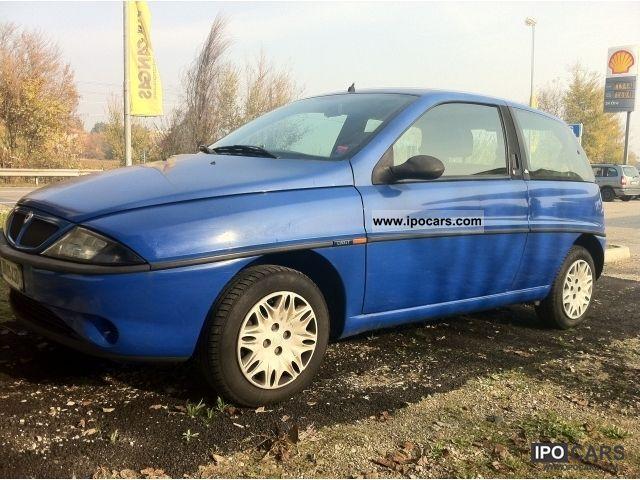 Lancia  Elefantino blu IMP. METANO BRC NUOVO 2000 Compressed Natural Gas Cars (CNG, methane, CH4) photo